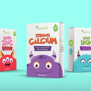 Monsters Galore: Qovita Packaging