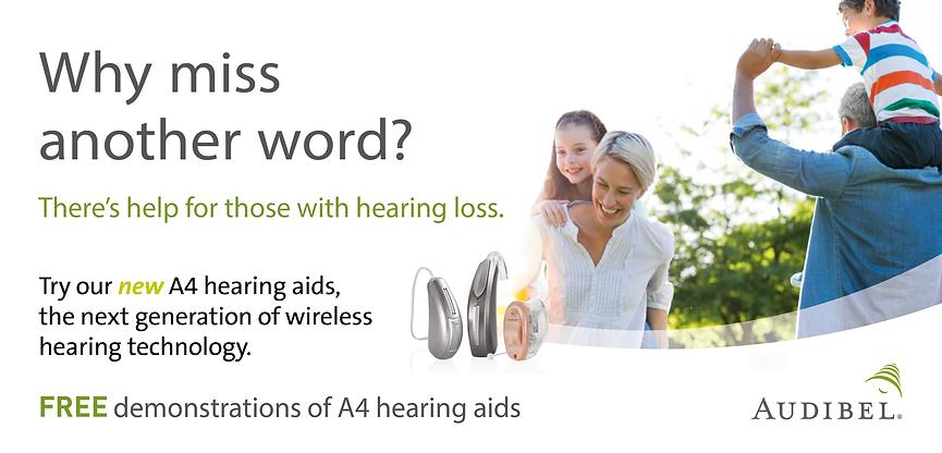 Audibel A4 Hearing Aids