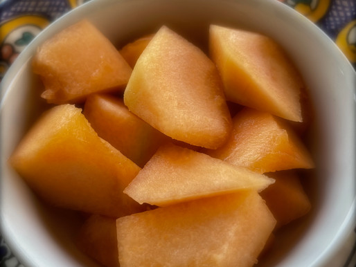 Cantaloupe And Other Summer Food Memories