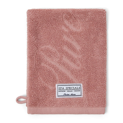 Rivièra Maison Spa Special Wash Cloth pink