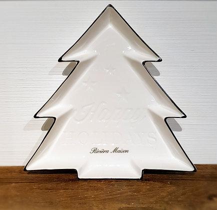 """Rivièra Maison Porzellan-Weihnachtsschale """"Tannenbaum"""""""