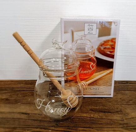 I Love Honey Jar