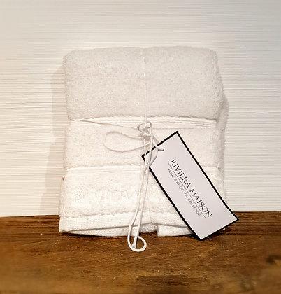 Rivièra Maison Hotel Guest Towel, white