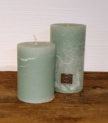 Rusric Candle olive green