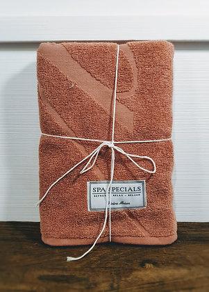 Rivièra Maison Spa Special Bath Towel 100 x 50 pink