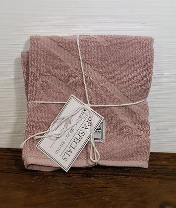 Rivièra Maison Spa Special Guest Towel 50x30 mauve