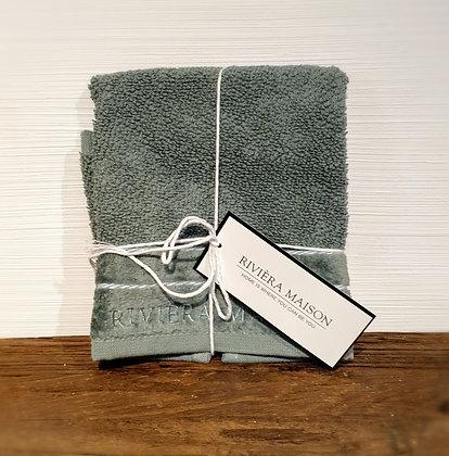 Rivièra Maison RM Elegant Guest Towel moss