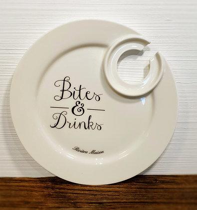 Rivièra Maison Bites & Drinks Party Plate
