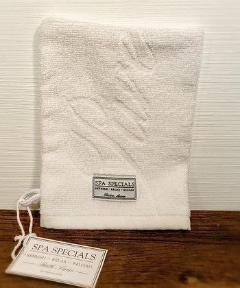 Rivièra Maison Spa Special Wash Cloth pure white