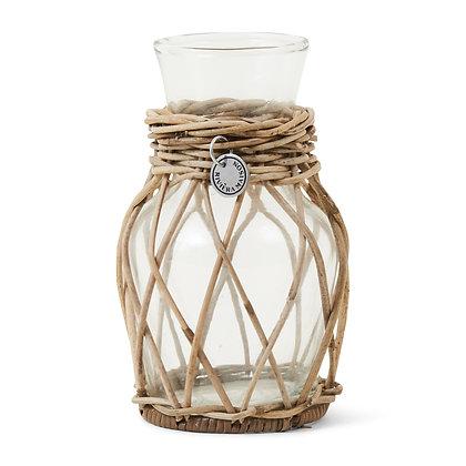 Rivièra Maison Rattan Mini Flower Vase