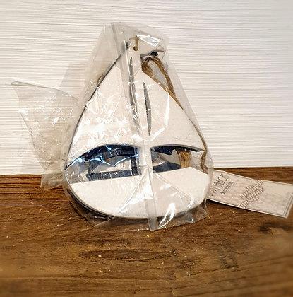 Happy Sailboat Decoration