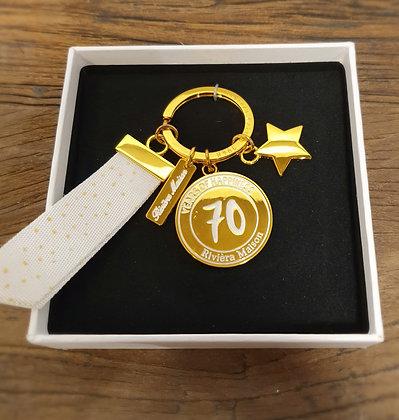 Rivièra Maison 70 Years of Happiness Key Hanger