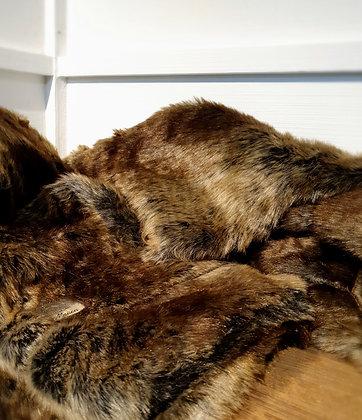 Silk Sable Faux Fur