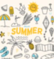 Sommer Ferien Urlaub Geschaeft geschloss