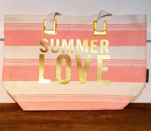 Strandtasche rosa