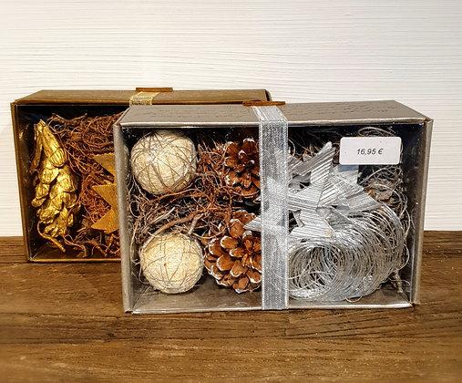 Rivièra Maison Christmas Decoration Box, silber