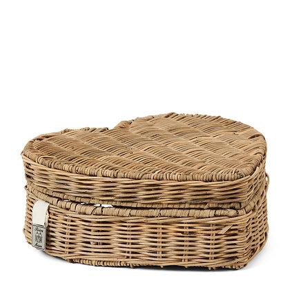 Rivièra Maison  Happy Heart Basket Low