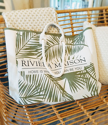 "Rivièra Maison""Tropical Leaves Bag"""