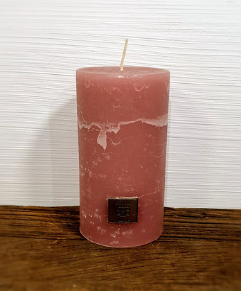 Rivièra Maison Rustic Candle frosted rasberry 7x13