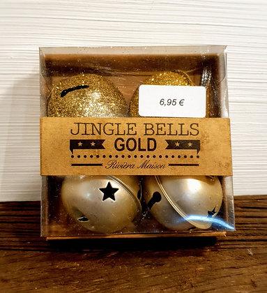 Rivièra Maison Jingle Bells, goldfarben