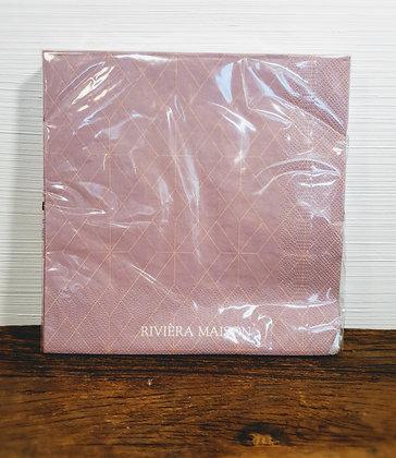 Rivièra Maison Paper Napkin Ballad Mauve