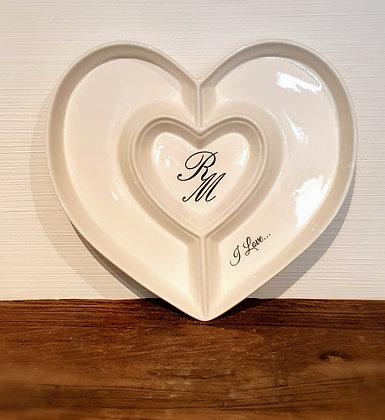 Riviera Maison Heart Plate