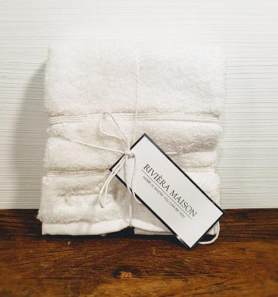 Rivièra Maison Hotel Towel white