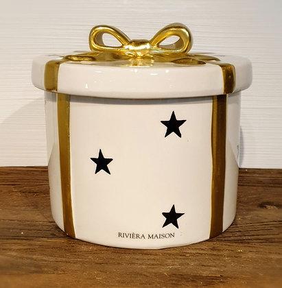 Rivièra Maison Christmas Decoration Box Round