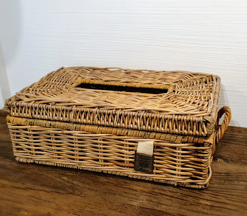 Rivièra Maison Rattan Tissue Box Holder