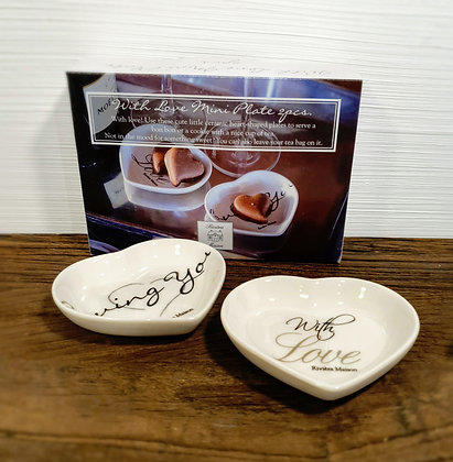 Rivièra Maison With Love Mini Plate 2 pcs