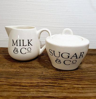 Rivièra Maison Classic Milk & Sugar Set