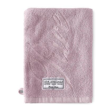 Rivièra Maison Spa Special Wash Cloth mauve