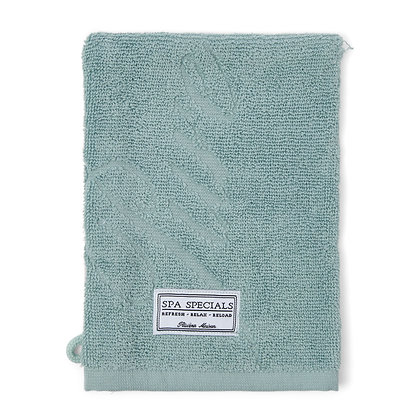 Rivièra Maison Spa Special Wash Cloth green