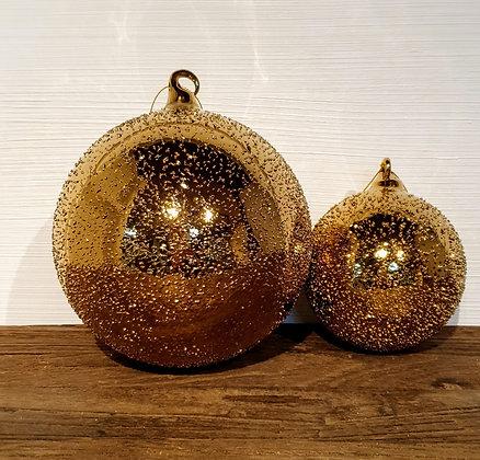 Decostar Weihnachtskugel gold