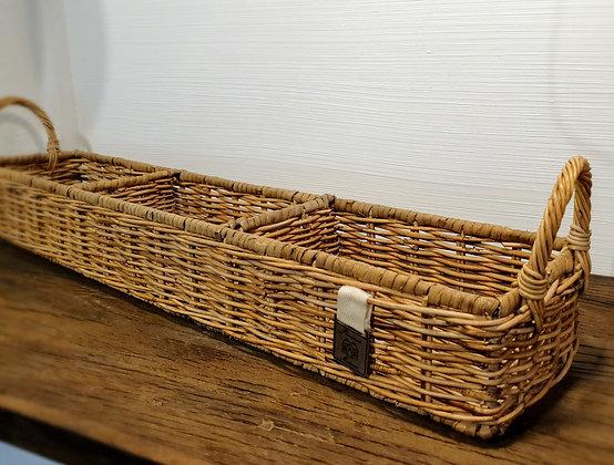 Rivièra Maison Rustic Rattan Rectangular Basket