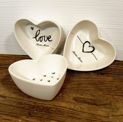 Rivièra Maison Lovely Heart Bowls 3 pcs