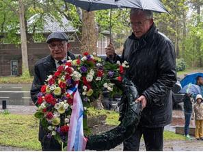 'Herdenken 76 jaar na de bevrijding in 2021'