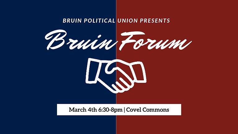 The Bruin Forum