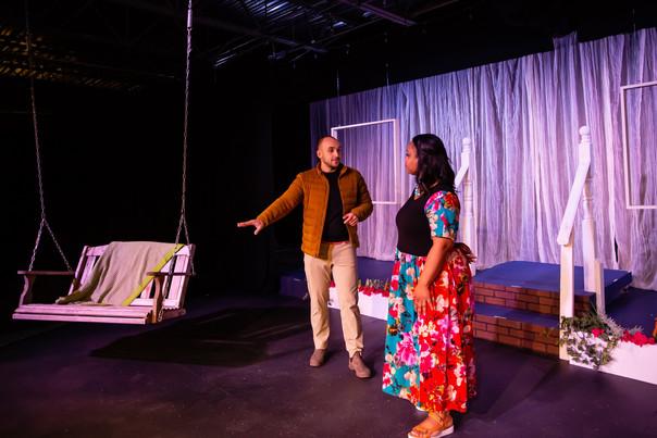 In rehearsal - Florida Girls at Emerald Coast Theatre Company