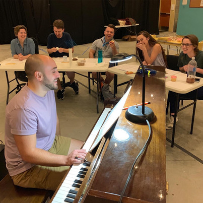 In Rehearsal - Pinkalicious at Emerald Coast Theatre Co.
