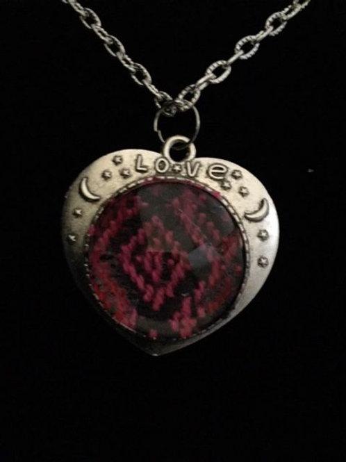 Red Diamond Necklace