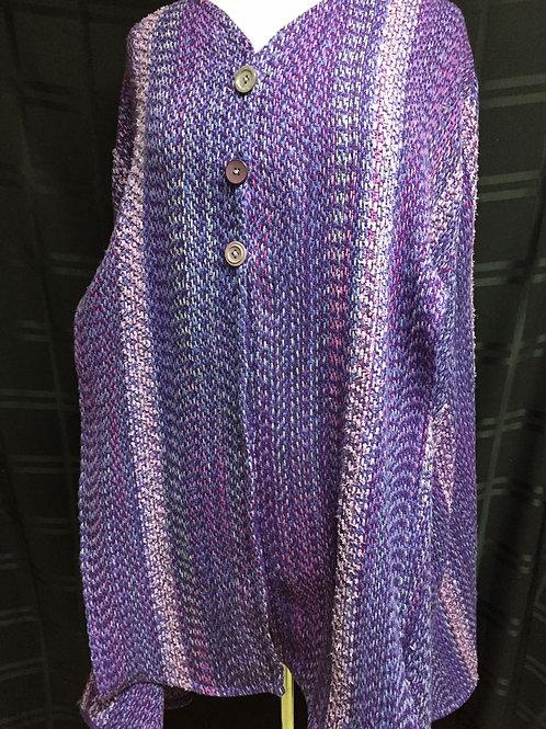 Purple Love Cape