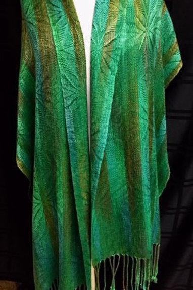 Green Goddess Shawl