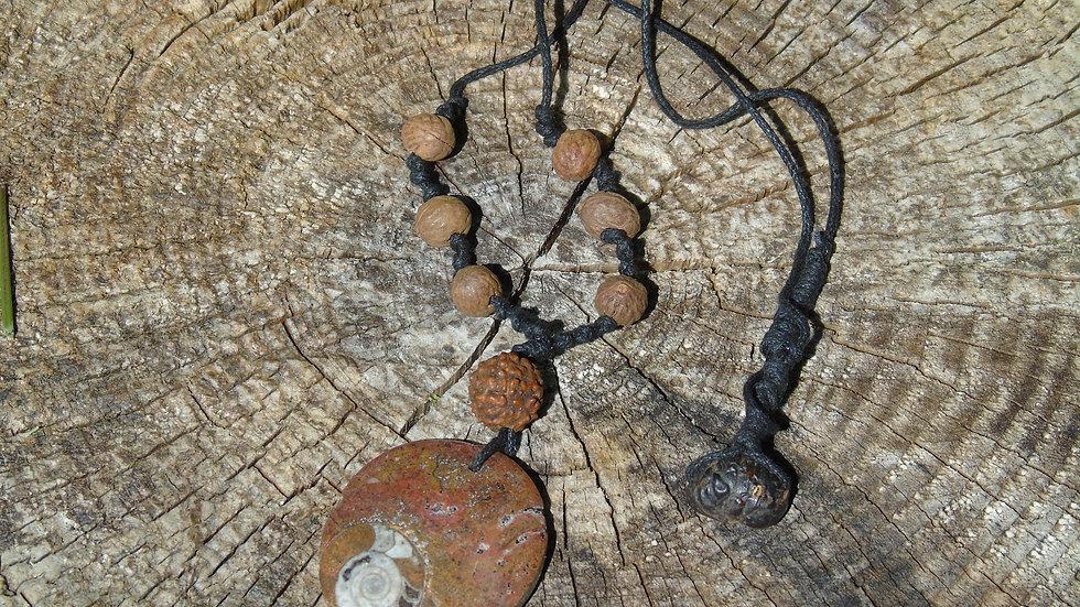 Ammonite Jungle Necklace