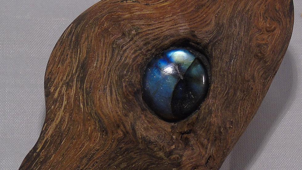 Oak&Labradorite Pendant