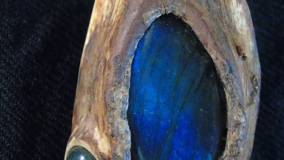 Pine&Labradorite Pendant