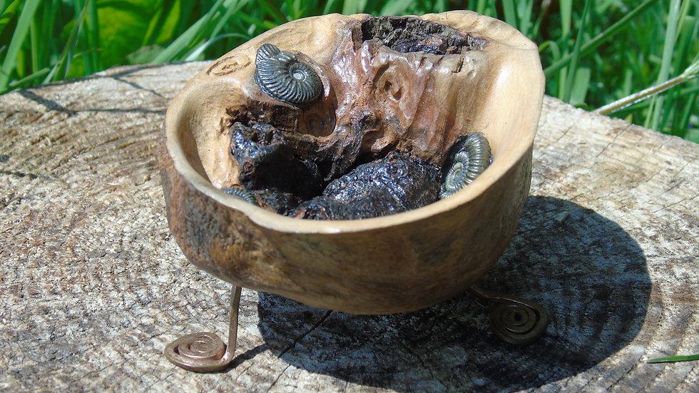 Beech alter bowl