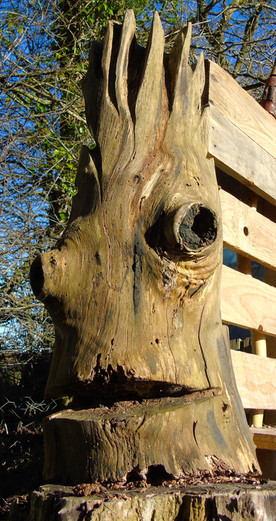 Jacks past involvement in Environmental Education has helped to encourage public imagination in Nature through woodland Art activities, always trying to promote natural Art with the Respect and Care of Trees as well as the wildlife that surrounds them.
