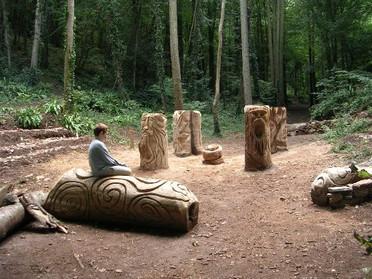 The Grove in the Grove woodland, Churston. Torbay.