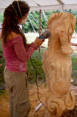 7. Seahorse carve.JPG